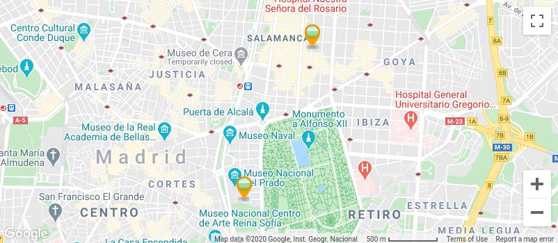 Localización PradoPsicólogos GMaps