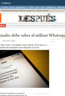 Abuso de whatsapp
